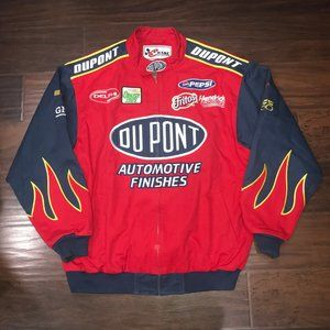 Dupont Nascar Racing Jacket Large